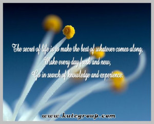 Secrets of life. Best life quotes . Beautiful positive meaning of life ...