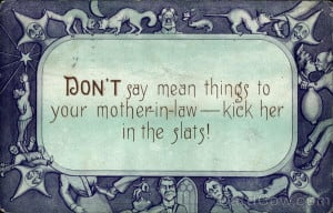 Quote about mother-in-law Phrases & Sayings