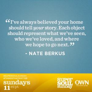 Nate Berkus on OWN Network
