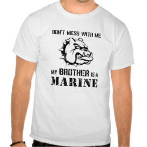 Marine Sister Brother Shirt