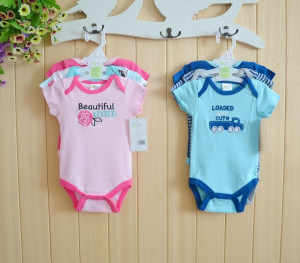 Baby Girls Romper Family Sayings beauitful flower girl growing cute ...