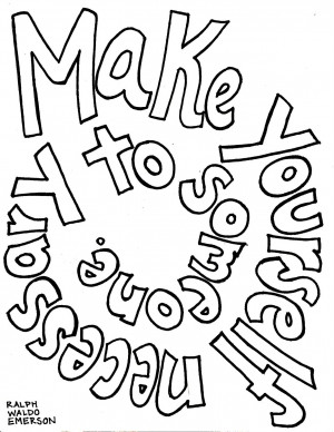 Life Quote Coloring Pages This quote was taken from