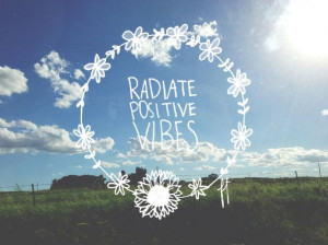 Radiation of good vibes