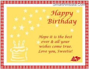 Hope Your Birthday Is Special