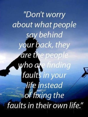 about people talking behind your back quotes about people talking ...