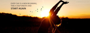 New Beginning Quotes Start again