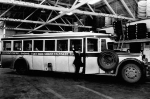 In 1932, a bus powered by the Model H engine went from New York to Los ...