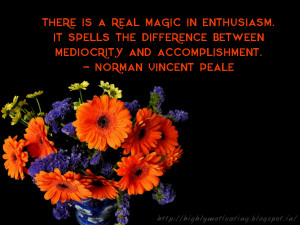 Motivational Quote Wallpaper - Norman Vincent Peale