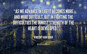 Related to Vincent Van Gogh Quotes - BrainyQuote - Inspirational and