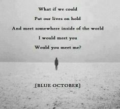 ... blue october s pizza blue october quotes blue october s mi october s