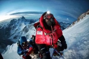 Yuichiro Miura from Japan climbing Mount Everest in 2013 at age 80 ...