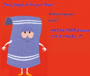 Towelie from South Park pic I made Image