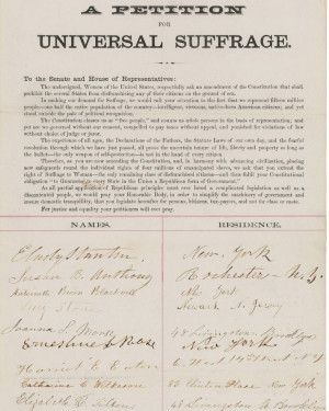 undersigned, Women of the United States, respectfully ask an amendment ...