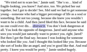 Jamie Quote from The Host