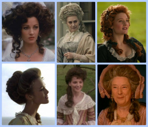 ... and Miss Laurie - Historic Hairstyles - Period Drama Fashion Week