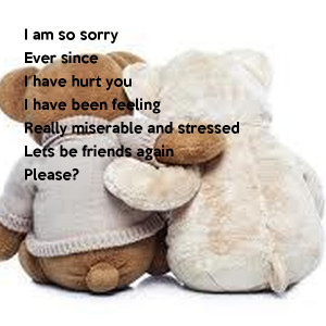 I Am Sorry Poems for Boyfriend: Apology Poems for Him