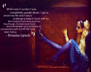 evanna lynch quote