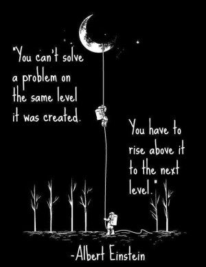... : quotes about life; how to solve a problem in life: Einstein sayings