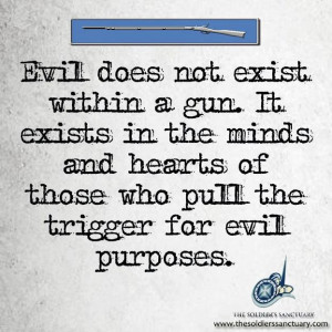 Banning guns will not stop a psychopath. They will usewhatever they ...