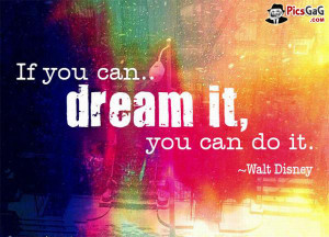 You Can Do it Motivation Quote Which Encourage You To Make Your Dreams ...