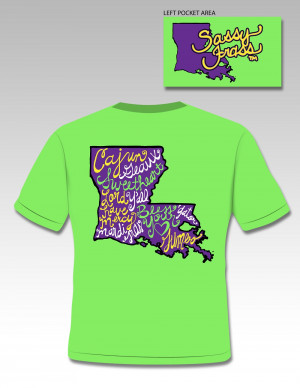 Softball Sayings For T Shirts Louisiana sayings tee $18.95
