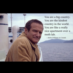 Funny, Robin Williams quote