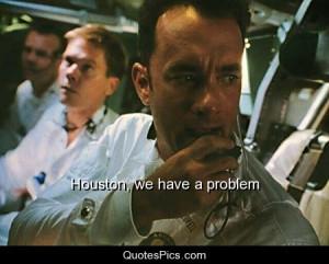 Houston, we have a problem – Apollo 13
