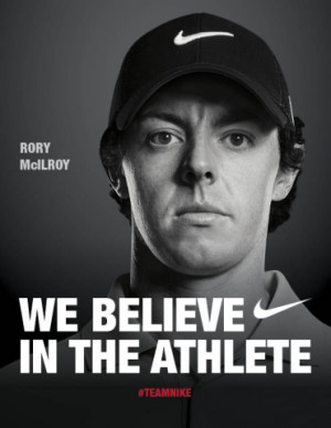 NIKE, Inc. : It's Official: Rory McIlroy Signs with Nike Golf