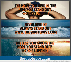 Quote-always Stand Out