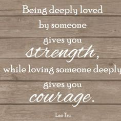 ... Love deeply, & Live fully always committing to each other selflessly