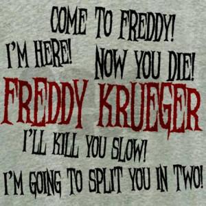 Freddy Krueger Quotes Women