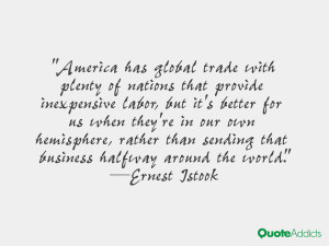 Ernest Istook Quotes