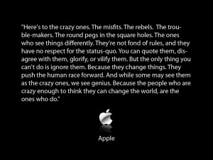Think Different- The Text