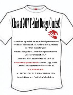 Class of 2017 T Shirt Designs