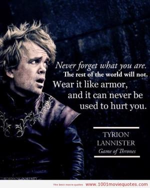 Game of Thrones - movie quote
