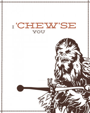 Star Wars Love Star wars - chewie