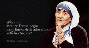 Quotes and sayings by mother teresa (18)