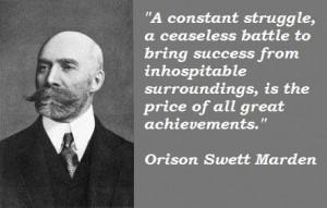 Orison swett marden famous quotes 3