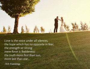 10 Love Quotes From Famous Authors to Steal For Your Vows