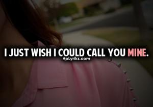 callll you mineee