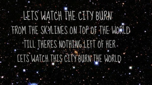 My edit:) hollywood undead song quote