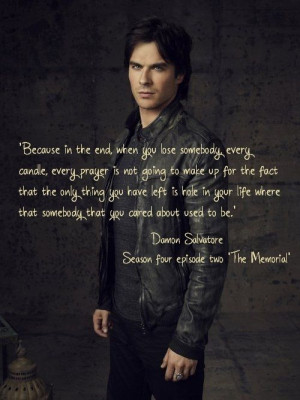 The Vampires Diaries, Damon Quote, Damon Salvatore, Tvd Quotes, Damon ...