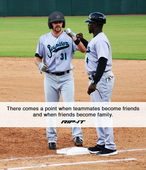 ... field. #RIPITSports #Baseball #Softball #Athletes #Teammates #Quotes