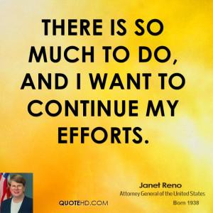 Janet Reno Quotes