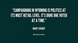 Mary Cheney Quotes
