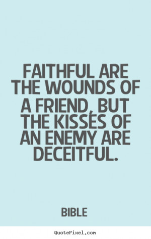 Faithful Friend Bible Quotes