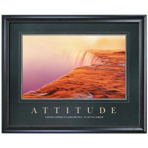 Nice Attitude Quote - A Positive Attitude