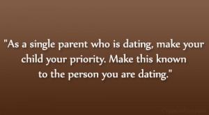 single parent quote