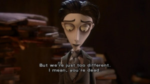 corpse bride, death, film, love, quotes