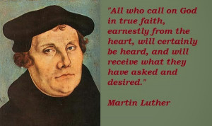 ... Martin Luther. He saw wrong legalistic doctrinesof the Romans Catholic